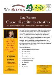 Corso di scrittura creativa con Sara Rattaro